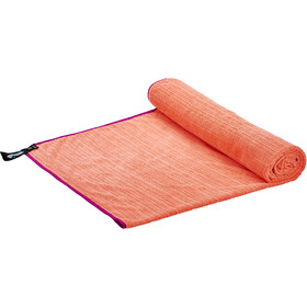 PackTowl Luxe Beach Towel vivid coral